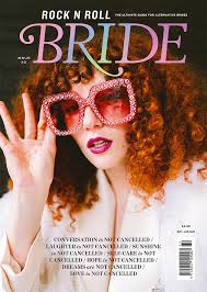 magazine rock n roll bride