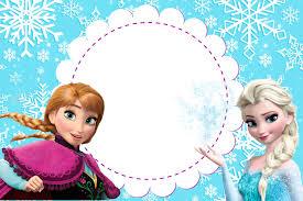 Convite Anna E Elsa Invitaciones De Frozen Invitaciones