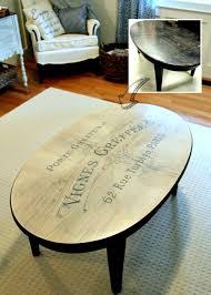diy coffee table makeover reader