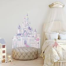 Disney Princess Castle Giant Wall Decal With Glitter Roommates Decor