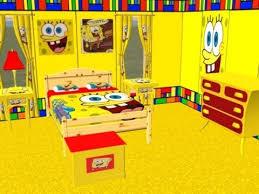 Complete Spongebob Bedroom Set Spongebob Bedroom Set Yellow Kids Bedroom