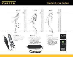 Zareba Electric Fence Tester Model A1lvt Z