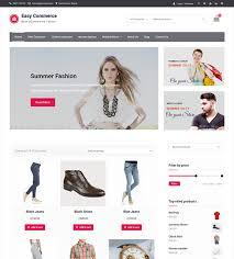 Easy Commerce - free simple yet modern e-commerce WordPress theme ...
