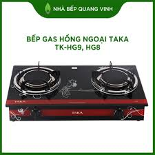 Bếp gas hồng ngoại Taka TK HG8: Mua bán trực tuyến Bếp ga với giá rẻ