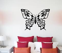 Winston Porter Floral Butterfly Vinyl Words Wall Decal Wayfair