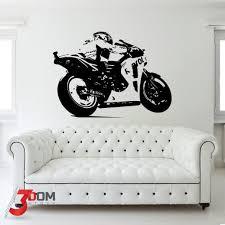 Wall Decal Vehicles Motogp Side Dark Buy Online