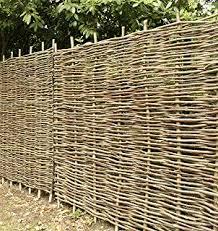 Papillon Premium Hazel Hurdle Woven Wattle Garden Fence Panel 1 8m X 1 8m 6ft X 6ft With 1 Year Warranty Amazon Co Uk Diy Tools