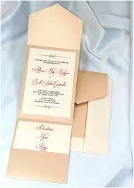 yourself pocket wedding invitation kits