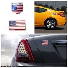 3d American Flag Car Metal Sticker Decal Badge Emblem Adhesive Aluminium 8cm New Archives Midweek Com