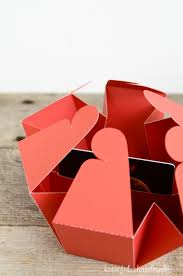 gift card box templates houseful of