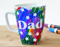 Easy Father S Day Sharpie Mug Kids Craft