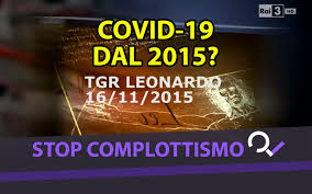 Il video di TGR Leonardo del 2015 e il coronavirus ingegnerizzato ...