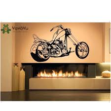 Yoyoyu Wall Decal Vinyl Art Home Decor Sticker Motorcycle Chopper Ride Sports Decal Kids Room Decoration Removeable Poster Zx008 Sport Decals Home Decor Stickersdecorative Stickers Aliexpress