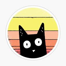 Cat Helmet Stickers Redbubble