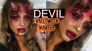 y devil halloween makeup you