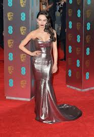 Ava West on Red Carpet at BAFTA Awards in London, UK 2/12/ 2017