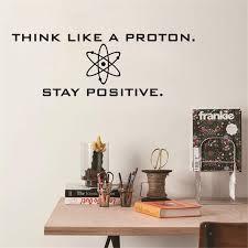 Positive Science Vinyl Wall Decals Sticker Office Home Study Room Art Decor Ebay