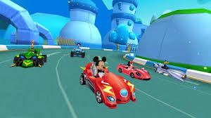 Mickey Roadster Racing Clubhouse (Trailer)