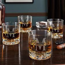personalized 12 oz whiskey glass