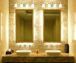 remarkable bathroom strip lights mirror
