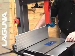 1412 Bandsaw Fence Installation Part 6 Of 14 Laguna Tools Youtube