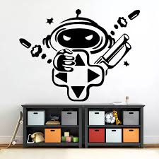 Game Wall Decal Video Game Stickers Teen Boy Room Decor Gamer Playstation Wall Decals Gamer Gift Vinyl Game Room Decor X842 Wall Stickers Aliexpress