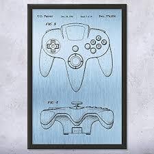 com framed 64 controller print