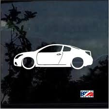 Nissan Altima Coupe Lowered Outline Window Decal Sticker Stickersquad