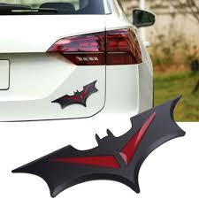 Sliver Black Batman Bat 3d Logo Car Sticker Car Styling Motorcycle Tail Decals Emblem Badge Metal For Nissan Ford Chevrolet Kia Car Stickers Aliexpress