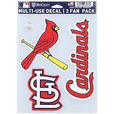 St Louis Cardinals Car Decals Cardinals Bumper Stickers Decals Fanatics