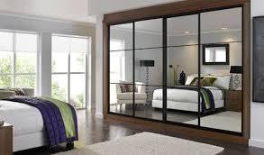 sliding wardrobe doors with mirrors and