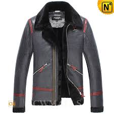 mens sheepskin er jacket cw858313
