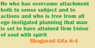 wisdom quotes on bhagavadgita yoga ego wisdom