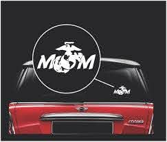 Marine Mom Usmc Military Window Decal Stickers Custom Sticker Shop