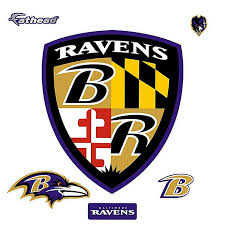 Fathead Nfl Baltimore Ravens Shield Logo Giant Wall Decal Bed Bath Beyond