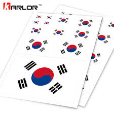 Hot Price Bf61 Korean Flag Korea Kr Taegeukgi Ho Car Auto Motorcycle Decal Set Sticker Scratch Off Cover Ipad Notebook Laptop Handy Car Styling Cicig Co