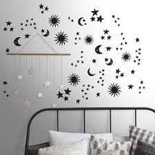 Wallpops See The Stars Black Wall Decals Dwpk3757 The Home Depot