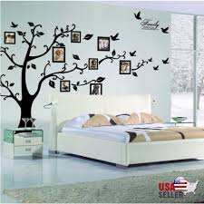Black Family Tree Sticker Wall Decals Removable Vinyl Mural Art Diy Home Decor For Sale Online