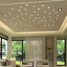 Bluelans 50pcs Removable 3d Star Shape Mirror Effect Home Decor Wall Art Decals Stickers Silver Price In Egypt Jumia Egypt Kanbkam