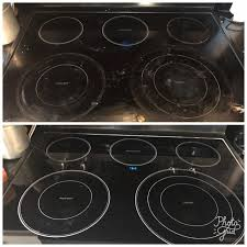 how to clean glass top stove including