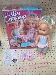 miss makeup doll 1988 mattel 13 inch