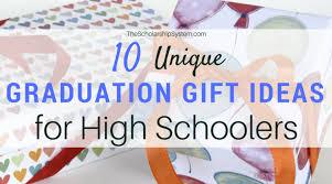 10 unique graduation gift ideas for