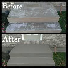 porch paint concrete front steps