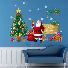 Dropshipping For Christmas Tree Snowman Home Vinyl Window Wall Stickers Home Decor Wall Sticker To Sell Online At Wholesale Price Dropship Website Chinabrands Com