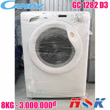 Máy giặt cửa ngang Candy GC1282D3 8kg   Điện Lạnh Nguyễn Khánh