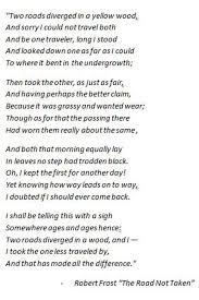robert frost poem we ve read wrong forever
