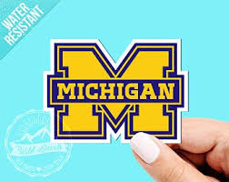 Michigan Car Decal Etsy