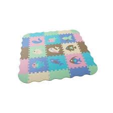 25 Pcs Eva Foam Puzzle Mats Baby Play Mat With Fence Interlocking Foam Floor Tiles Kids Puzzle Mat Baby Crawling Mat Play Mats Color Multicolor