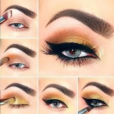 eye makeup video tutorial step for