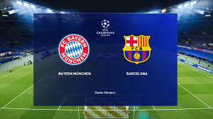 Barcelona vs Bayern Munich - Champions League 14 Aug 2020 ...